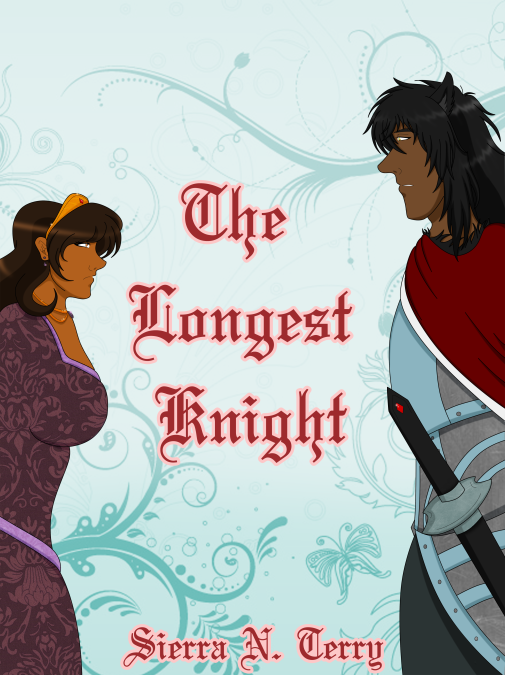 the longest knight cover with name done