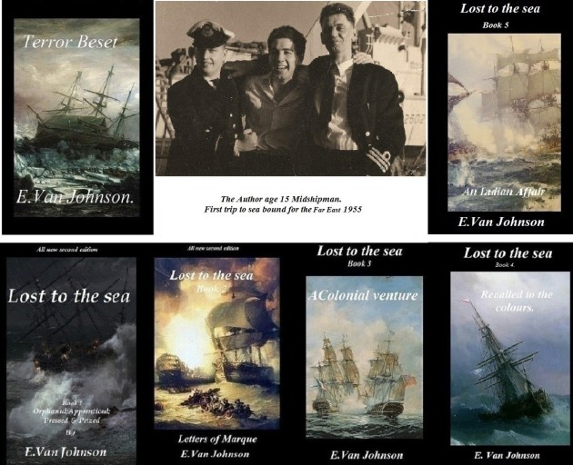 Authors page Master sailor pic